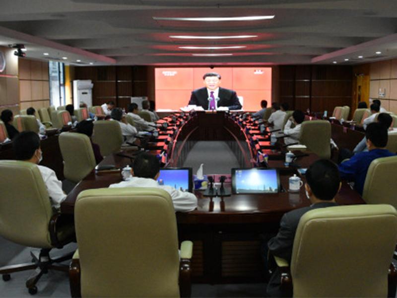 罗湖组织收看深圳经济特区建立40周年庆祝大会