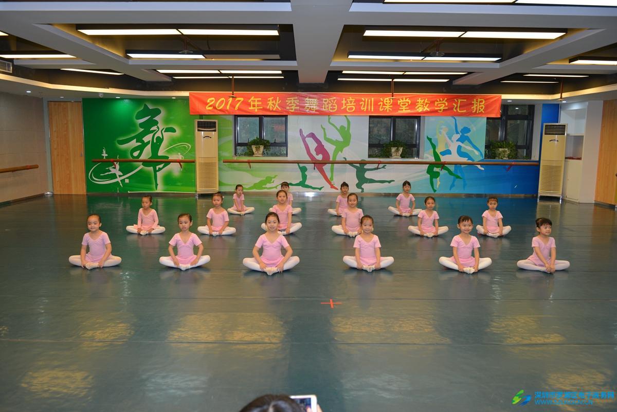 2017秋季舞蹈学科课堂教学汇报表演圆满结束
